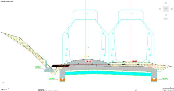 AutoCAD Civil 3D aplikace Ferrovia 2