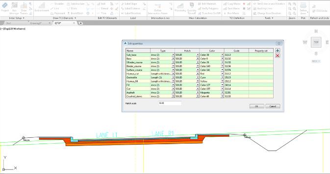 AutoCAD Civil 3D aplikace Plateia