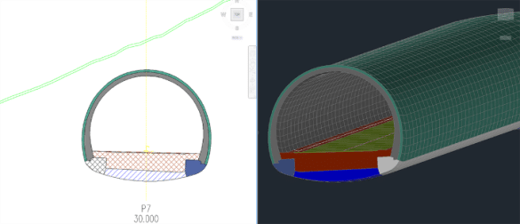 Plateia - 3D_tunel