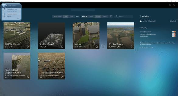Infraworks 360 - přehled