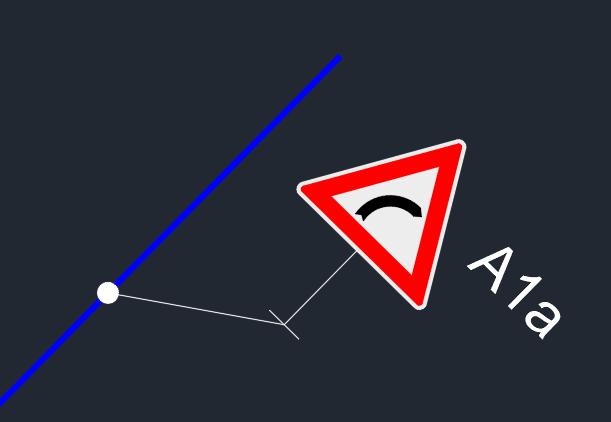 NAtočení dopravního značení v AutoCADu