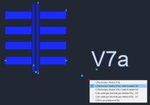 Editace vodorovného dopravního značení AutoCAD Civil