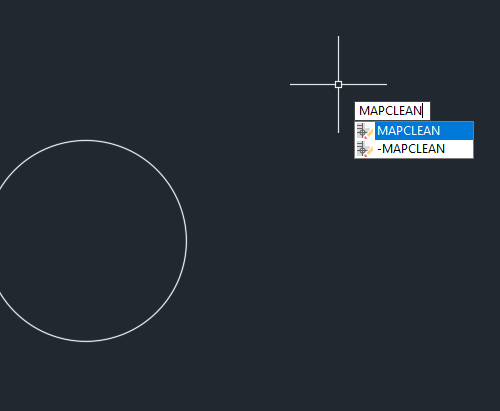 AutoCAd Civil 3D mapclean