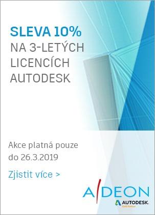 Sleva 10% na Autodesk licence