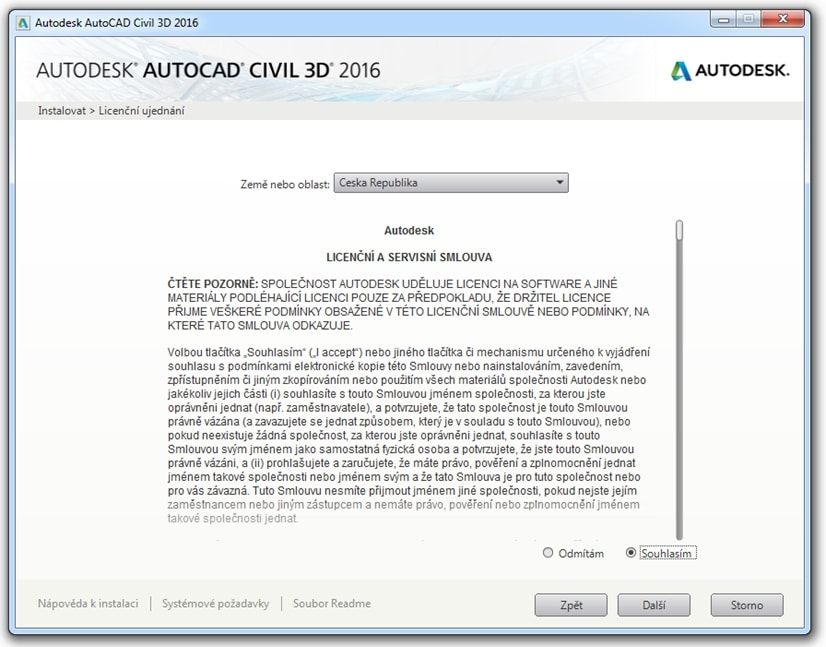 Civil 16 - licence